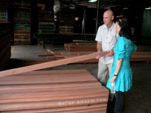 From the sawmill to the finish, each piece of lumber is graded a minimum of seven times