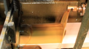 All surfaces are curtain coated, coating the bottom is critical to a well-made product