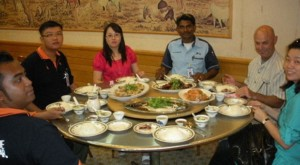 And, where Malaysian hospitality gives new meaning to the term light lunch