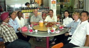 In customary Malaysian fashion, our guests were invited to lunch before returning to Kuala Lumpur