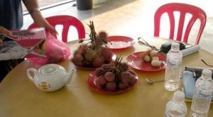 Or rambutan, a sweet and juicy sensation