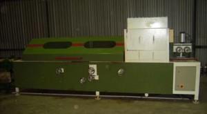 Our custom designed prefinish line